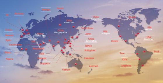 이씨플라자는 전세계 37개 해외네트워크를 통해 시장조사,                     해외현지마케팅, 수출 상담회, 바이어 초청 등 성공적인해외마케팅 서비스를 진행하고 있습니다.