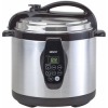 1000-Watt, 6-Quart Stainless Steel Pressure/Slow Cooker And Steamer