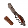 Corkscrew Wine Opener Stainless Steel Bottle Opener Laguiole Waiter with unique burls rosewood handle Polish finishing